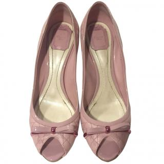Christian Dior Summer Collection Pink Shoes