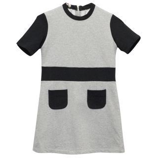 Marni Grey and Black Dress