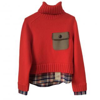 D Squared red jumper