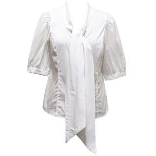 Essentiel Antwerp White Short Sleeve Shirt