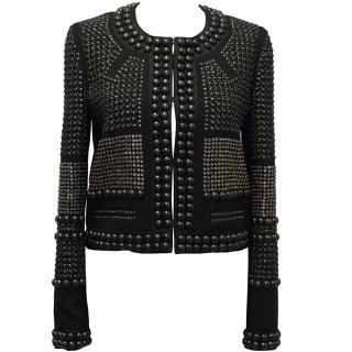 Isabel Marant Black Bead Embellished Jacket