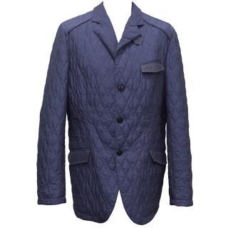 Etro Blue Lightweight Jacket