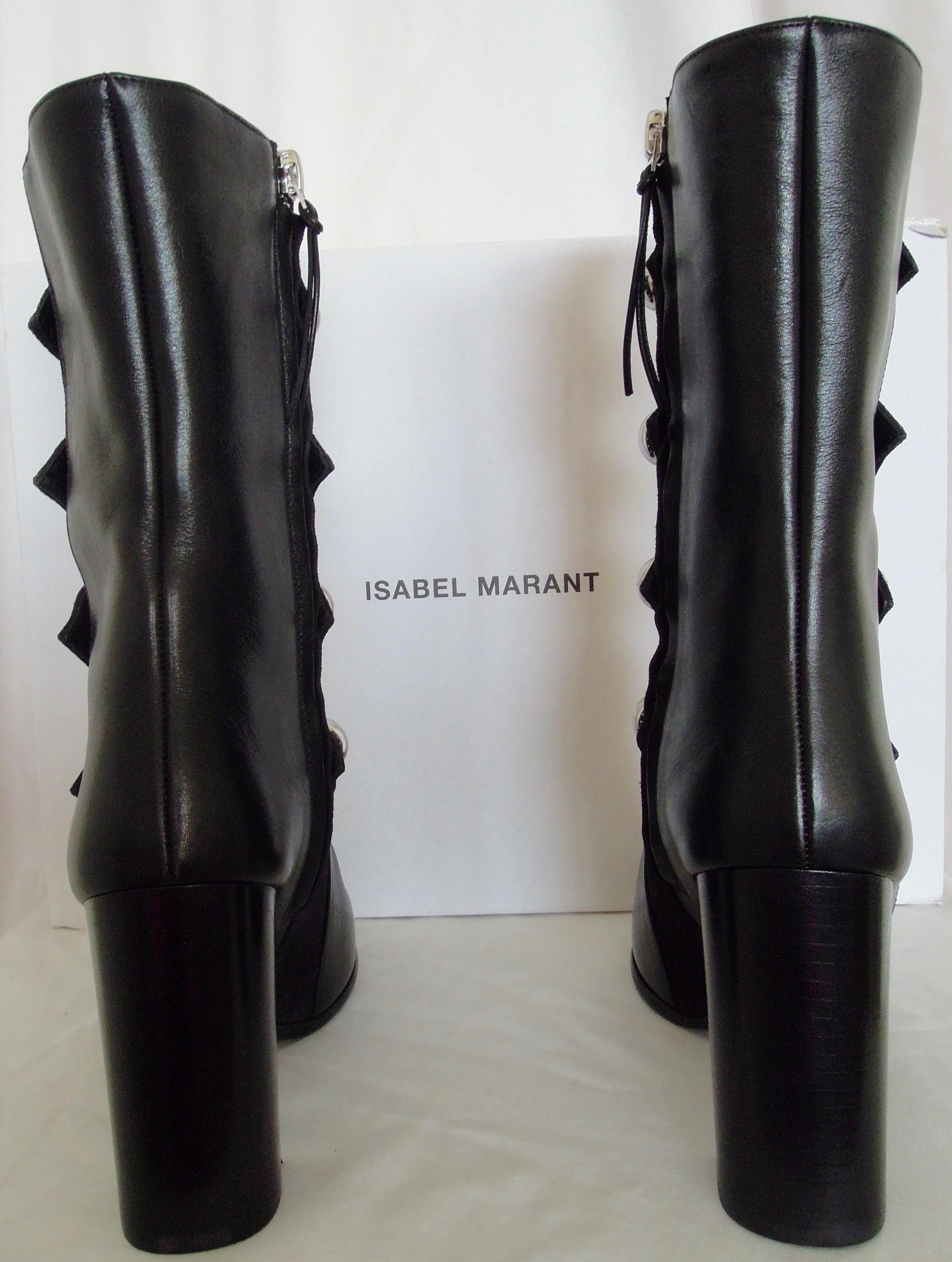 1763b1eff90f01 Isabel Marant Arnie Boots
