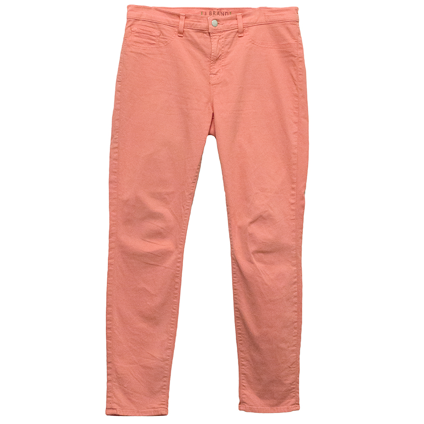 J Brand Coral Jeans