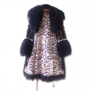 Missoni Mongolian Lamb Coat Collector's item