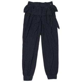Nono Kids Navy Blue Jersey Trousers