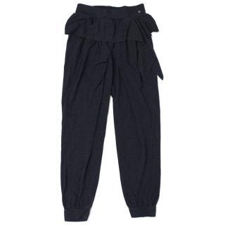 Nono Kids Navy Blue Jersey Trousers