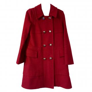 Marc by Marc Jacobs 3/4 Length Red Coat