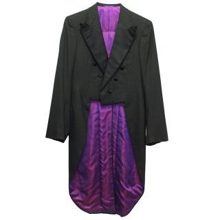 Kiton Black Wool Tuxedo Tails