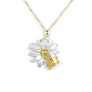 Alex Monroe honey bee flower necklace