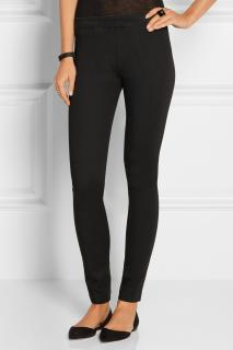 The Row Black Wool Leggings