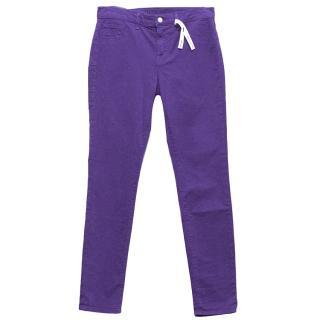 J Brand Purple Jeans