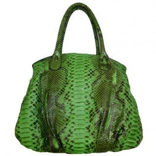 Zagliani Snakeskin Bag