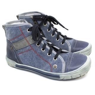 Ritcher Kids High Top Trainers