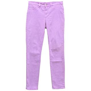 J Brand Lilac Jeans