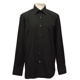 Tom Ford Black Button Down Shirt