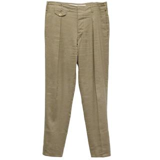 Christophe Lemaire Light Brown Trousers