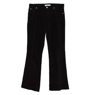 Yves Saint Laurent Velvet Trousers