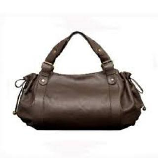 Gerard Darel le 24 heure Chocolate Bag