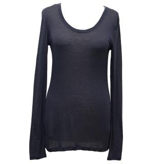 Day Birger et Mikkelsen Blue Long Sleeved Top