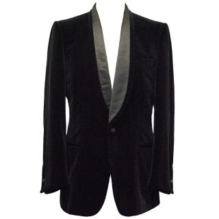 Yves Saint Laurent Black Velvet Blazer
