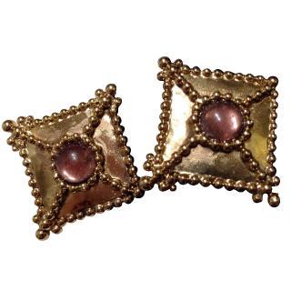Oscar de la Renta Vintage Earrings