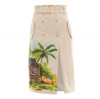 Stella Jean Coyote Skirt