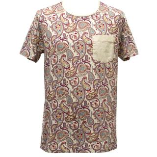 Pretty Green Paisley Print T-shirt