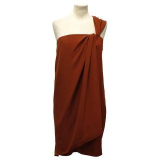 Diane von Furstenberg Red Valetta Evening Dress