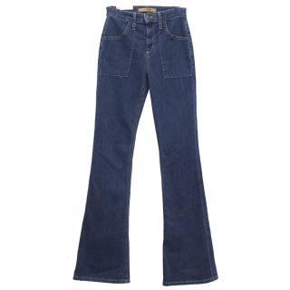 Joe's Charlie Flare High Rise Denim Jeans