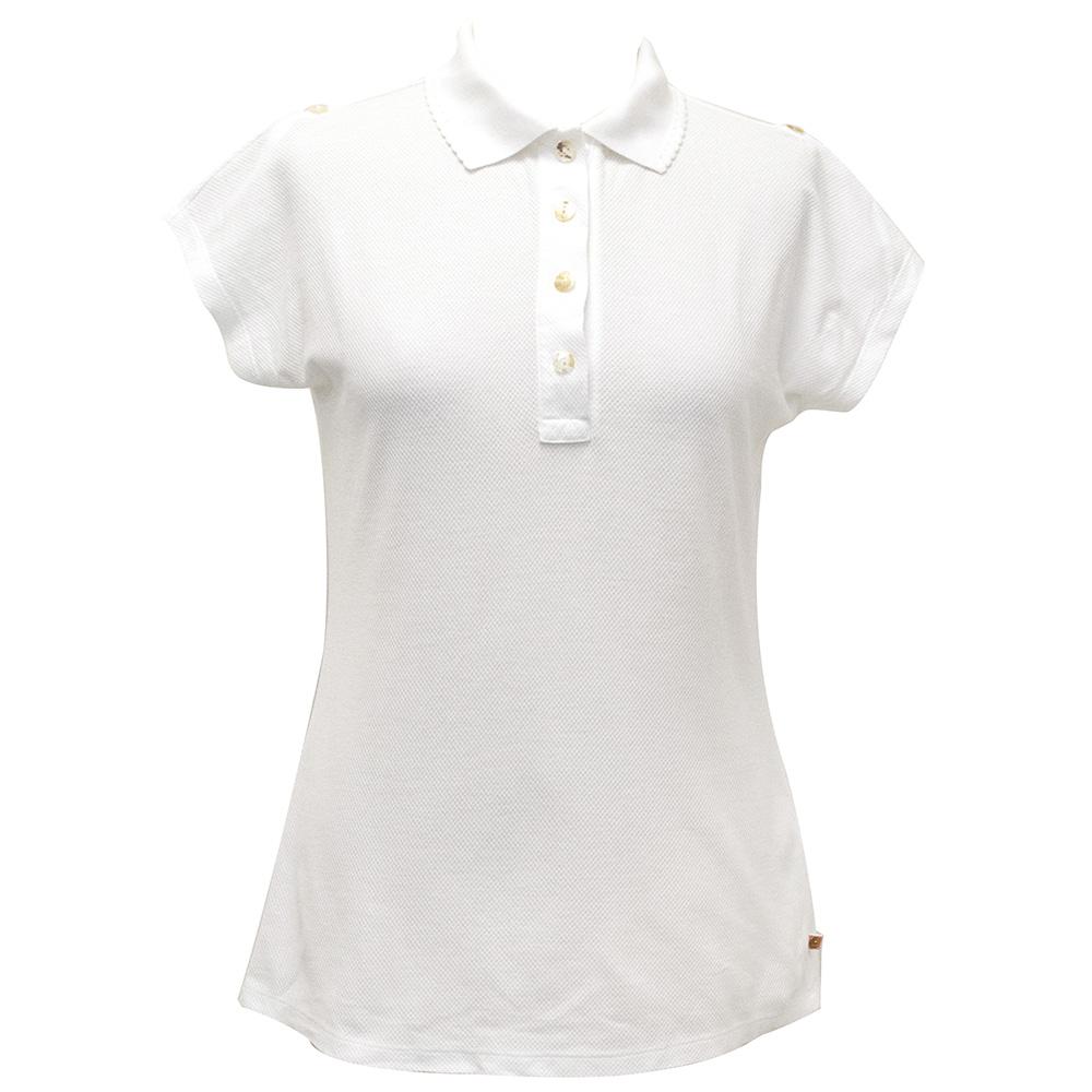 Boss Hugo Boss White Polo Shirt