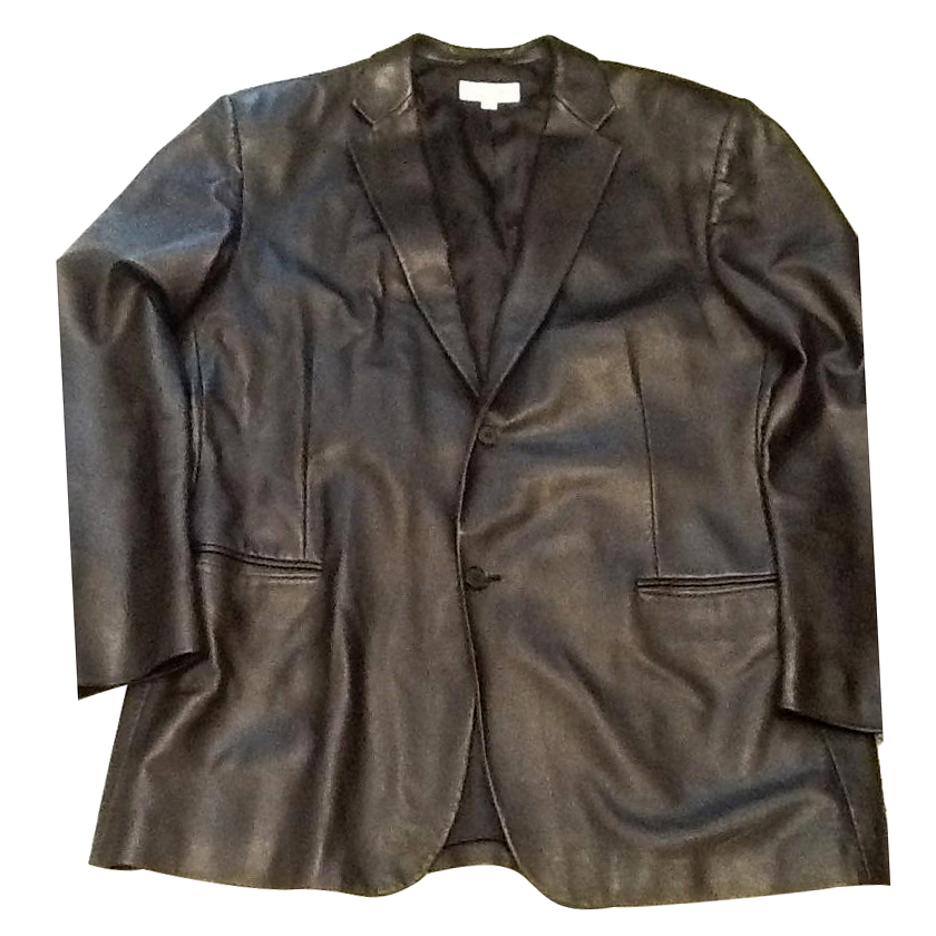 Calvin Klein leather jacket xxl