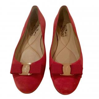 Salvatore Ferragamo Red Shoes