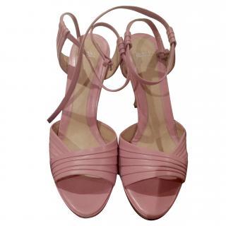 Hugo Boss rose pink heels