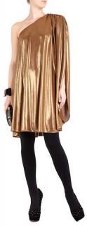 Halston Heritage One Shoulder Mini Dress