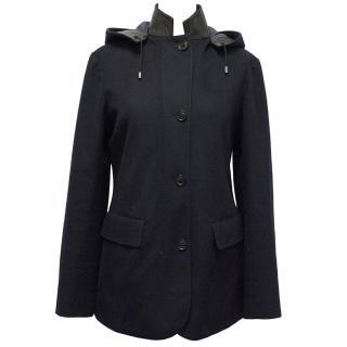 Lora Piana Navy 100% Cashmere Jacket