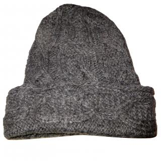 Eugenia Kim oversized cable hand knitted hat