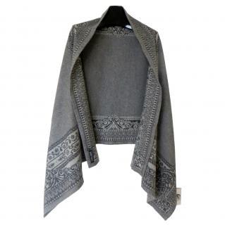 Giorgio Armani cashmere blanket wrap