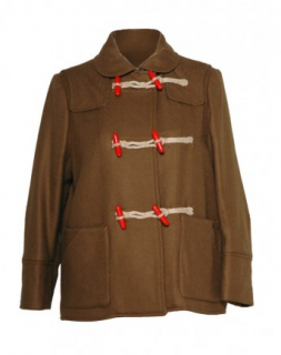 See by Chloe Brown Duffle Jacket