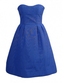 Alexander McQueen Blue Prom Dress