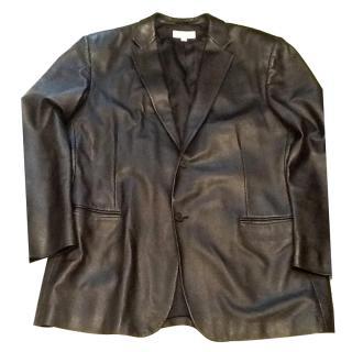 Calvin Klein leather jacket xxl