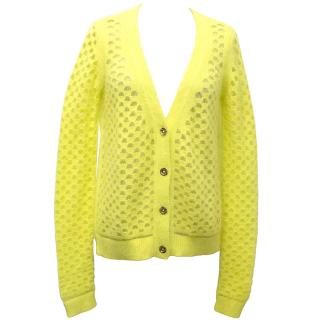 Juicy Couture Yellow Cardigan