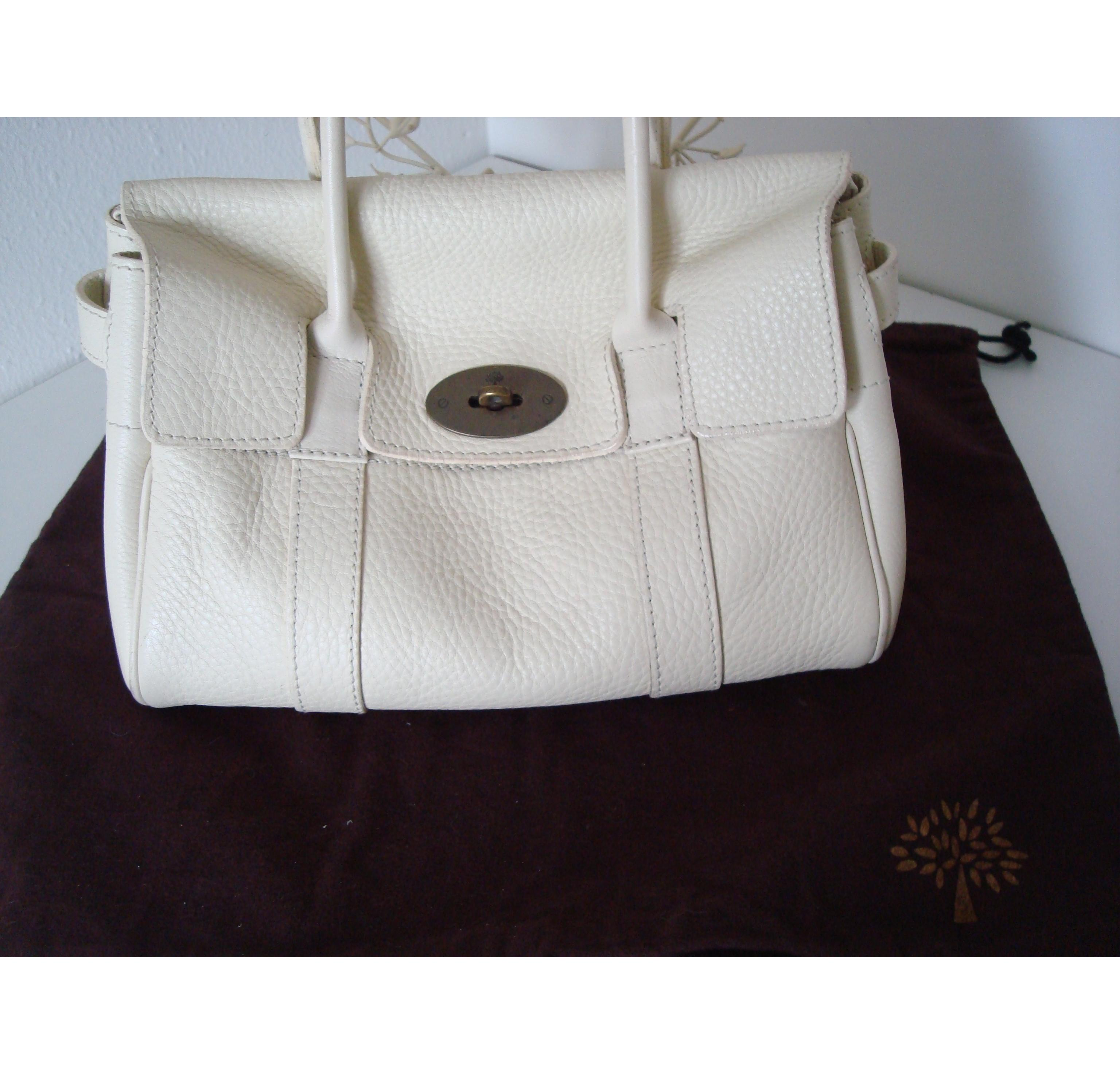 ... inexpensive mulberry cream pebble leather ledbury handbag hewi london  a471d f4787 4b8982403e5a4