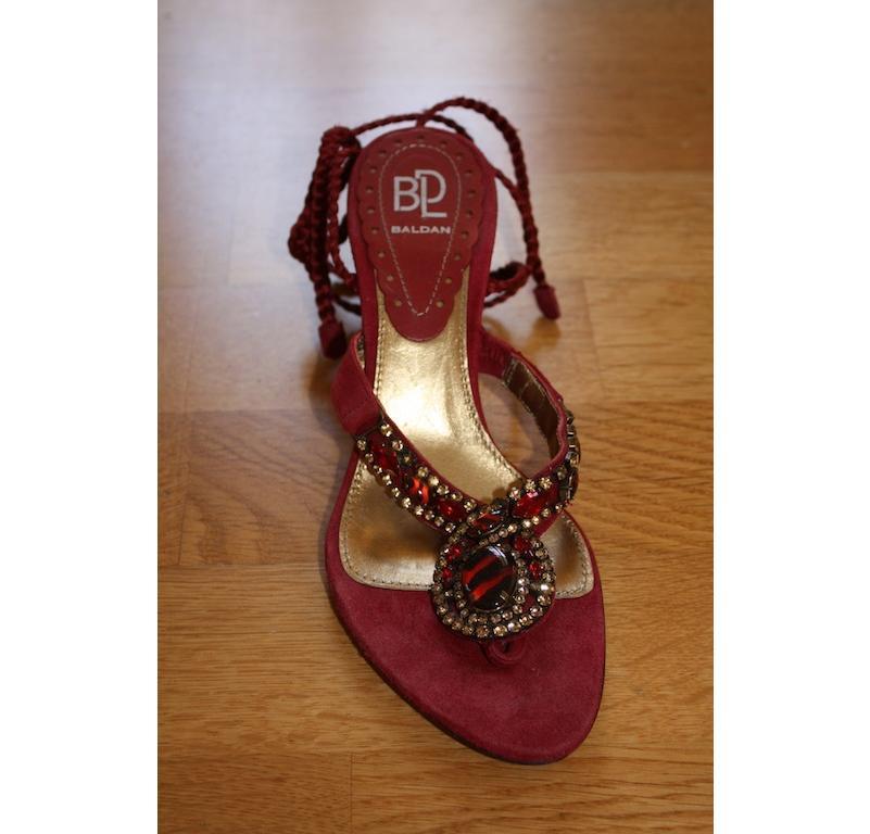 Baldan jewelled sandals