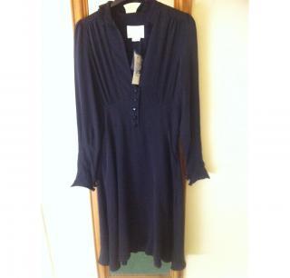 Sara Berman Silk Frill Dress with tags NEVER WORN