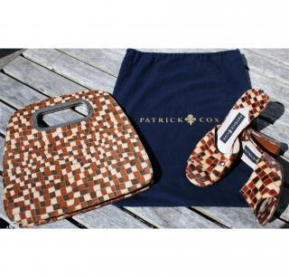 Patrick Cox mules & matching bag