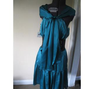 Moschino Emerald Green Dress