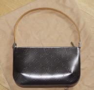 LOUIS VUITTON FOWLER MONOGRAM MATT VERNIS BAG