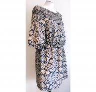 3.1 Phillip Lim Ikat print dress