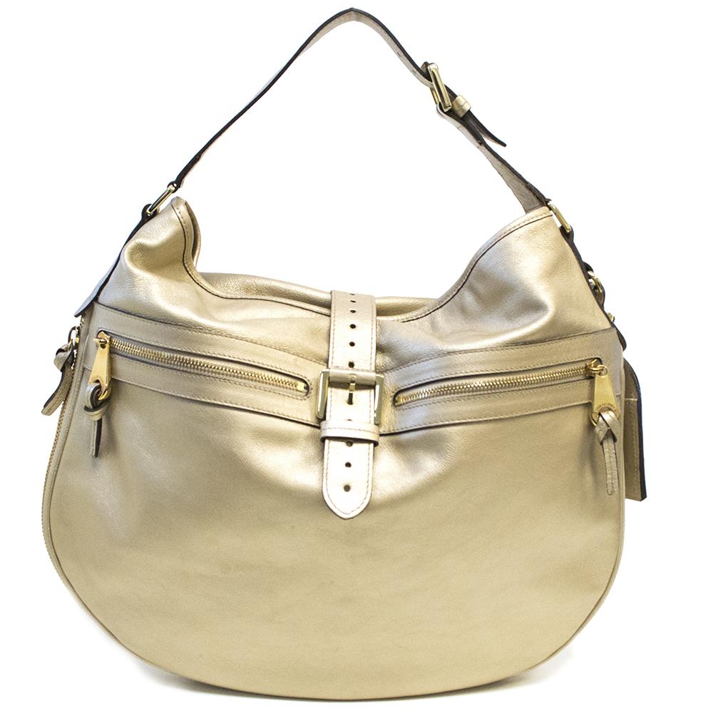 Mulberry Gold  Metallic Shoulder Bag